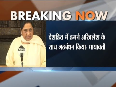 BSP Supremo Mayawati Urges Opposition Parties To Unite Against BJP