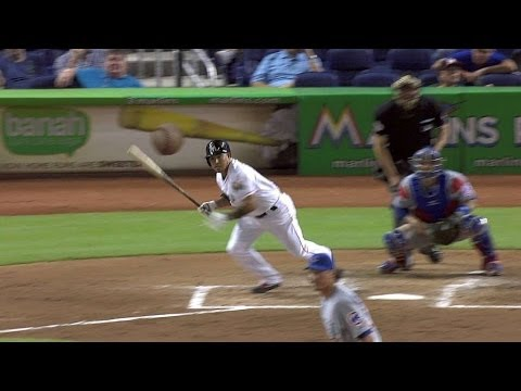 CHC@MIA: Furcal grounds a two-run single to center