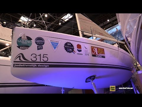 2018 Hanse 315 Sailing Yacht - Walkaround - 2018 Boot Dusseldorf Boat Show