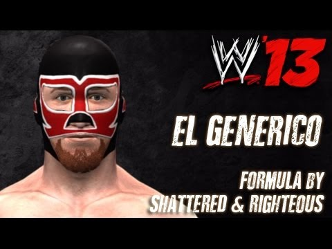 WWE '13 El Generico CAW Formula by Shattered & Righteous