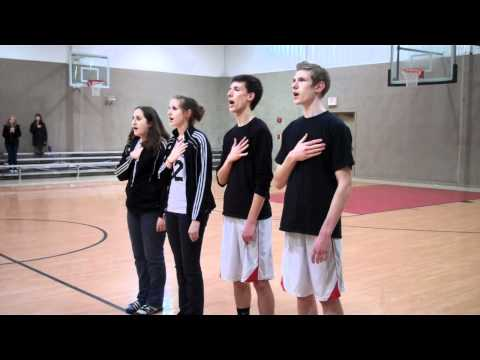 Bloomsburg Christian School National Anthem #2.MP4