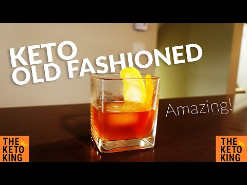 AMAZING Keto Old Fashioned | Keto Friendly Alcohol Drinks | Keto Alcohol | Keto Friendly Alcohol