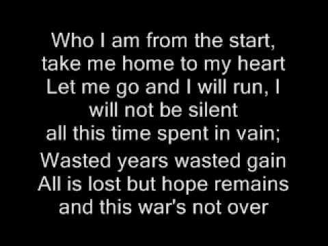 Shattered - Trading Yesterday - lyrics