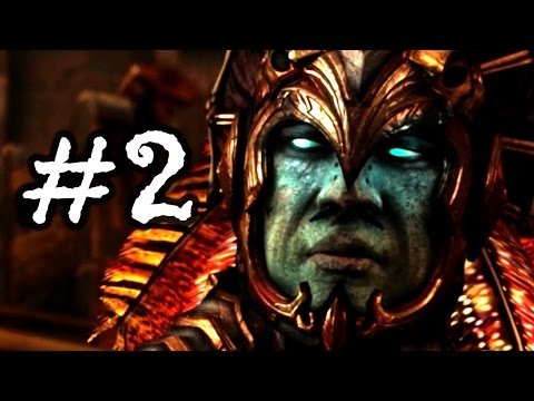 Mortal Kombat X Gameplay Walkthrough - STORY MODE - Chapter 2 - Kotal Kahn! PC 1080P