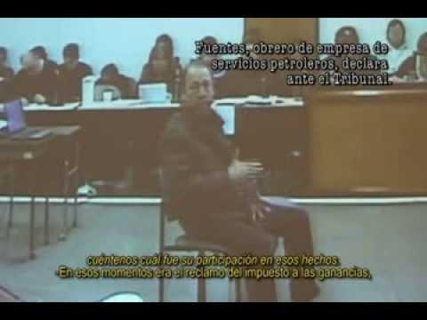 Escandaloso juicio a los trabajadores petroleros de Las Heras
