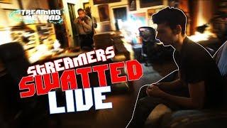 Streamers SWATTED LIVE (Ice Poseidon, Summit1G, Swifty...)