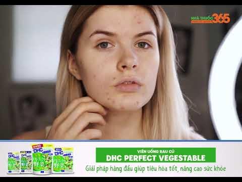 Viên uống rau củ DHC Perfect Vegetable - Giải pháp hàng đầu giúp tiêu hóa tốt, nâng cao sức khỏe