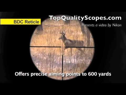 Nikon PROSTAFF Riflescope 4-12x40 Matte BDC 6729