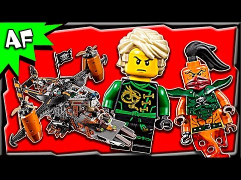 Lego Ninjago MISFORTUNE'S KEEP 70605 Stop Motion Build Review