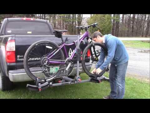 Yakima TwoTimer Hitch Mount Platform Style Bike Rack Overview and Demo