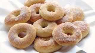 Recette des beignets au four   baked donuts recipe