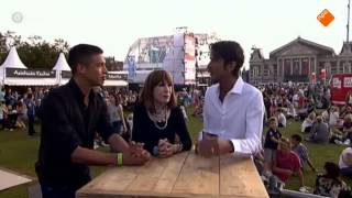 Uitmarkt Live 2015 - Interview Liesbeth List & Sjors van der Panne