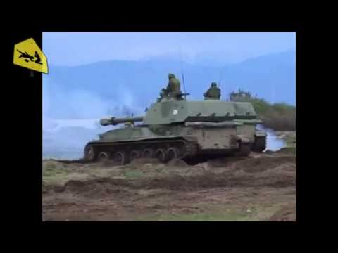 Russian troops began Artillery exercises in Abkhazia on the border with Georgia