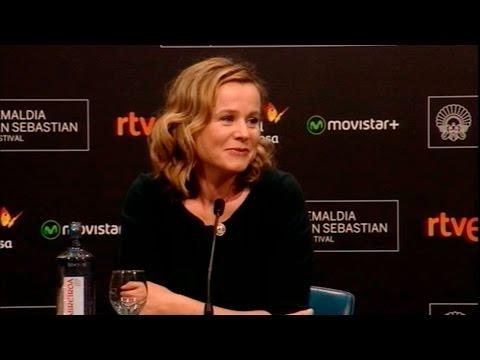 Rueda de prensa  ''Emily Watson (Premio Donostia)'' (S.O.) -2015