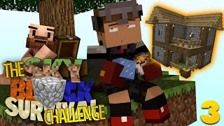 Minecraft Skyblock: REDUX #3 | HOUSE BUILD OFF CHALLENGE (Skyblock Minecraft Challenge)