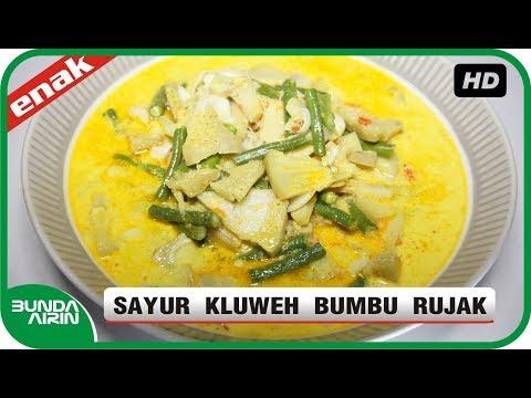 Sayur Kluweh Bumbu Rujak Resep Masakan nDeso Indonesia Sehari Hari Mudah Simpel - Bunda Airin