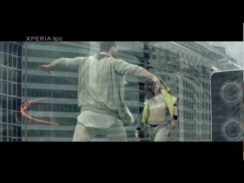 Sony Xperia tipo 2012 latest TVC