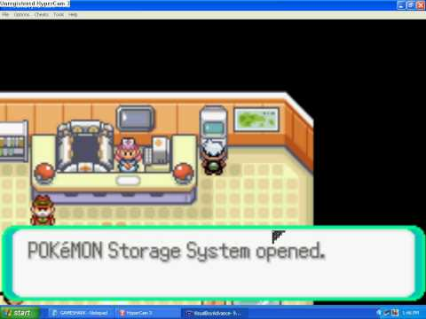 Pokemon Emerald gameshark code:Masterballs in PC