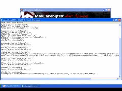 tutoriel vidéo gratuit Malwarebytes' Anti-Malware