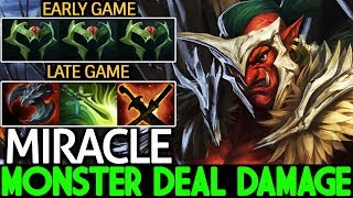 Miracle- [Troll Warlord] Monster Deal Damage Right Click Hero 7.21 Dota 2