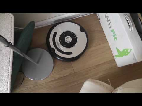 The i-Robot Roomba 555 vacuum cleaner