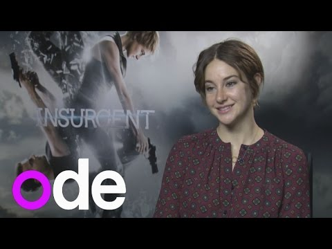 INSURGENT: Shailene Woodley talks Theo James chemistry and does funny Kate Winslet impression