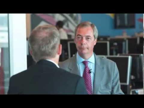 Les Reid interviews UKIP leader Nigel Farage Sept 2013