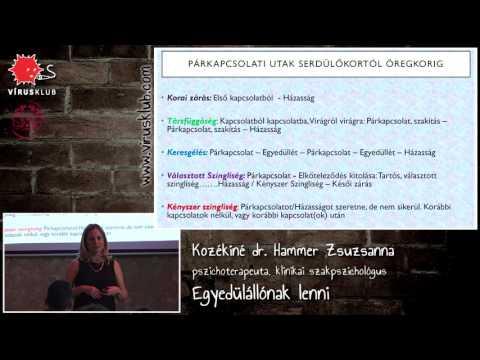 Egyedülállónak lenni | Kozékiné Dr. Hammer Zsuzsanna
