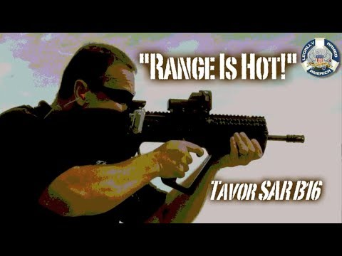 RANGE IS HOT! IWI Tavor SAR B16 review and takedown