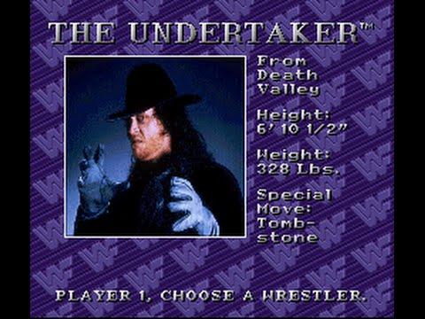 WWF Royal Rumble - WWF Royal Rumble-The Undertaker - User video