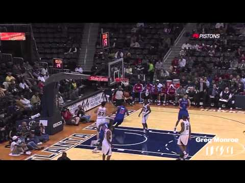 (HD) Greg Monroe Detroit Pistons Rookie Mix (Part 1)