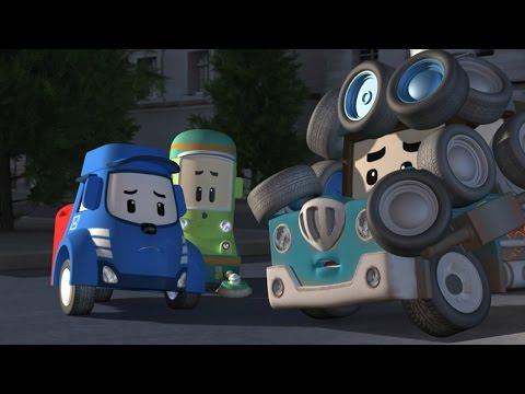 Робокар Поли - Приключение друзей - Доверяй друзьям (мультфильм 9 в Full HD)