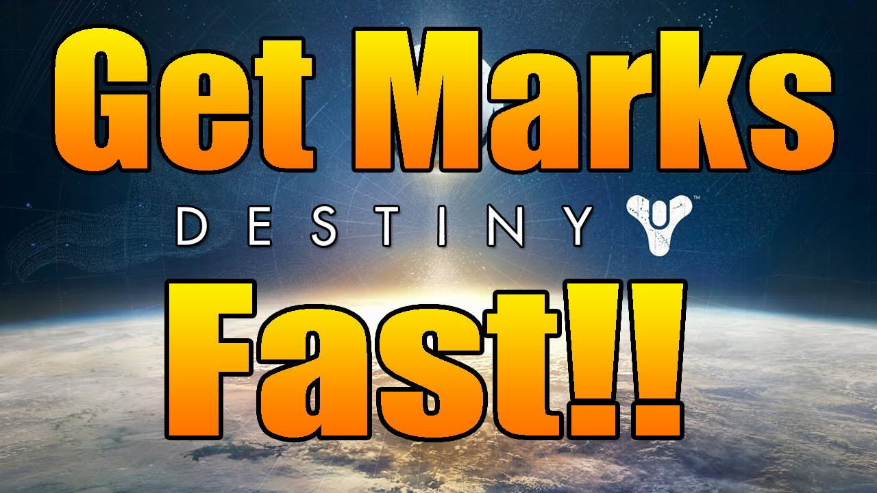 Destiny tips tricks fastest way to get vanguard marks and crucible