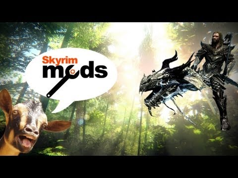 Top 5 Skyrim Mods of the Week - Tropical Dinosaurs vs Screaming Goats