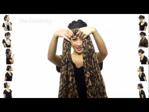 Как красиво завязать шарф, платок