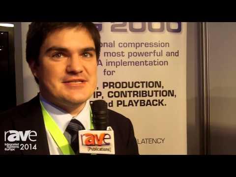 ISE 2014: intoPIX Presents TICO Video Compression Codec