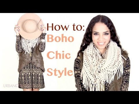 Fall/Winter Fashion Tips: Boho Chic Outfit Ideas - Bohemian Style Outfits