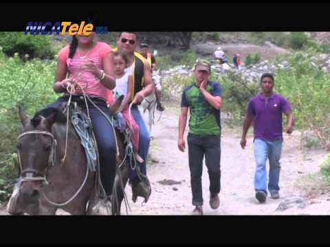 NICATELE USA, EN EL CAÑON DE SOMOTO - NICARAGUA