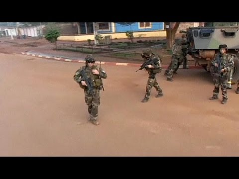 French troops start to disarm militias in Central African Republic