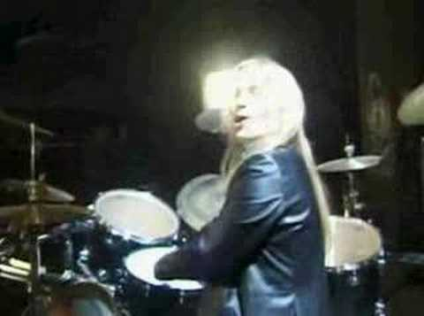 Emppu on drums! (Nightwish)