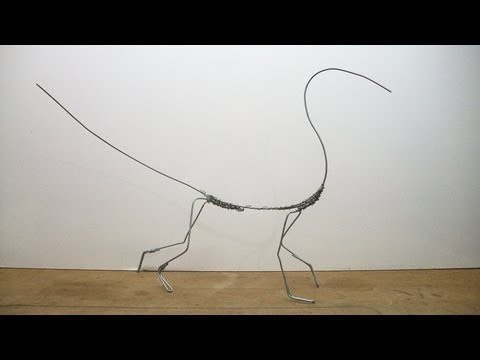 Full Dragon Sculpture, Part 1. Armature wire