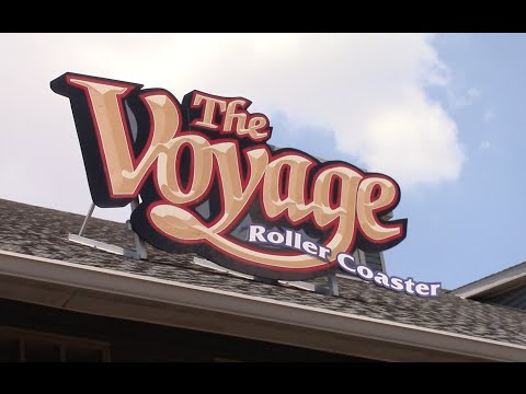 The Voyage Review Holiday World Wooden Roller Coaster