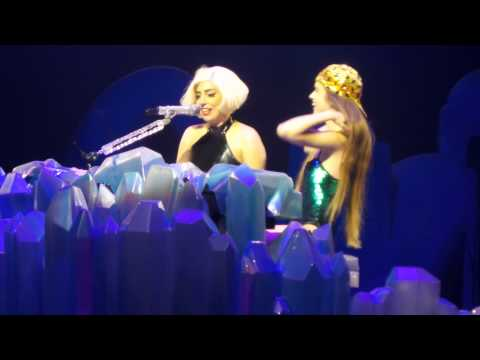 BORN THIS WAY WITH FAN HD | Lady Gaga ARTRAVE | July 2nd Montreal