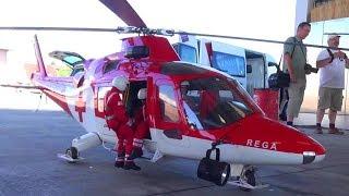 AGUSTA AW-109K2 SCALE REGA RC TURBINE HELICOPTER BY ROLAND KAUFMANN