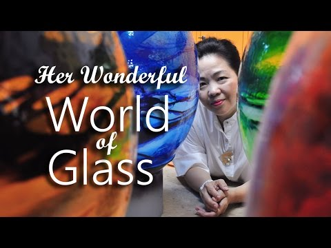 Her Wonderful World of Glass | Digital Features | Channel NewsAsia Connect