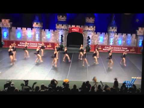 Arizona State University UDA College Nationals Jazz 2014