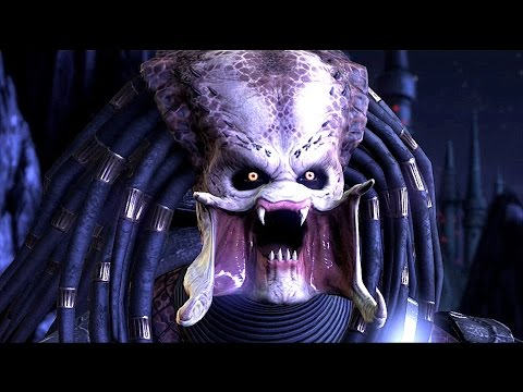 Mortal Kombat XL Predator `s Rage on Alien  Fatalities Brutalities & Stage Fatality
