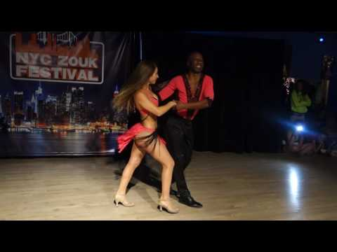 00128 NYCZF2016 Maria and Gilson ~ video by Zouk Soul