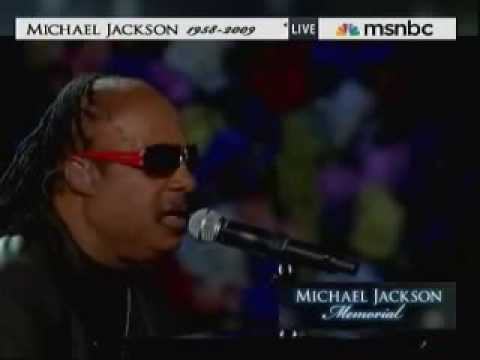 Michael Jackson Memorial Service Stevie Wonder