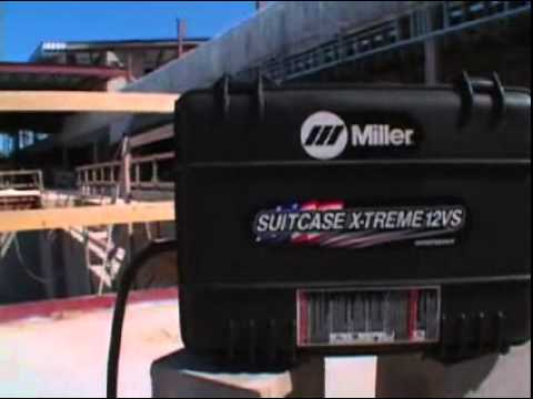 Miller SuitCase X-TREME Wire Feeders - Bring It On